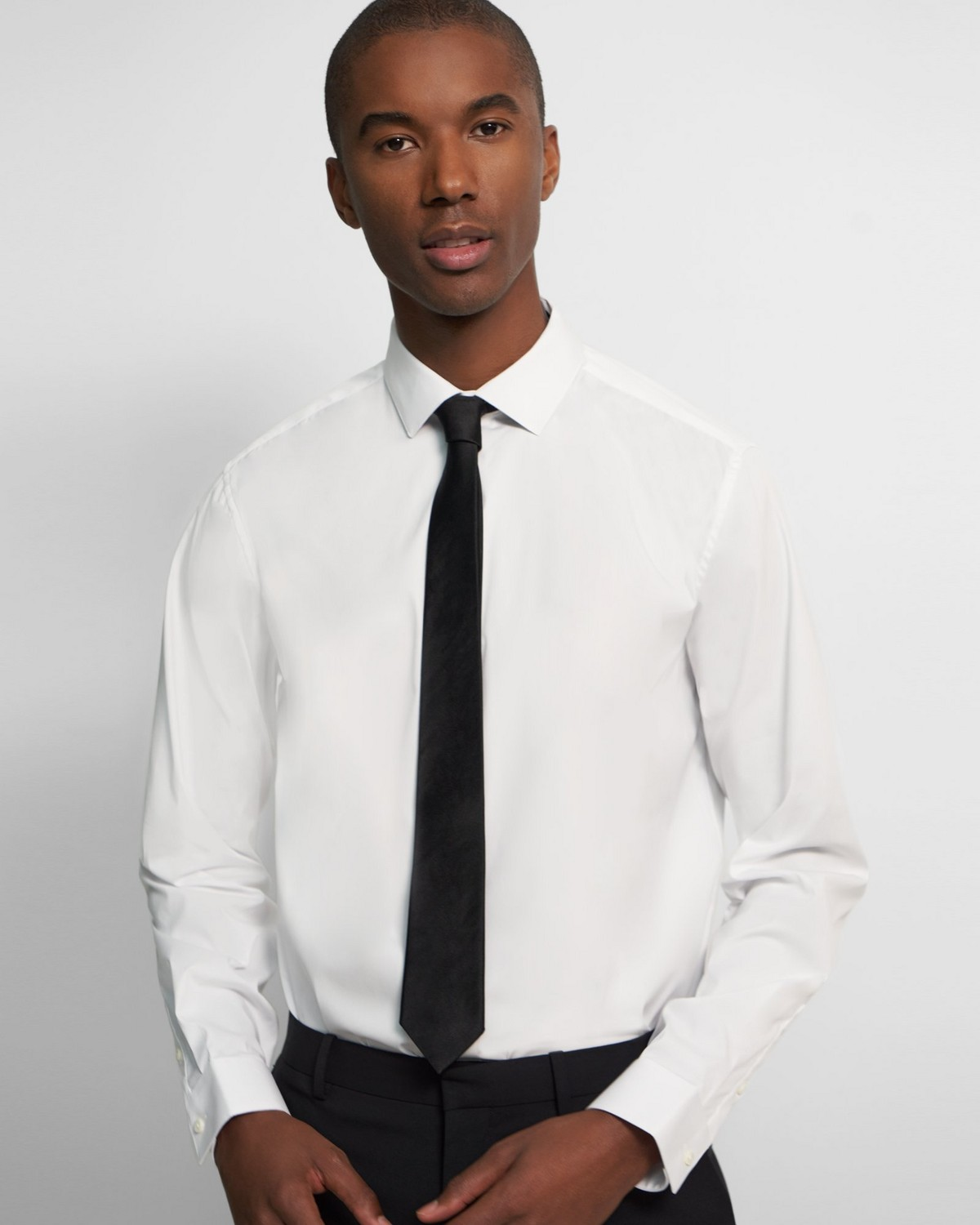 Roadster Tie in Solid Silk