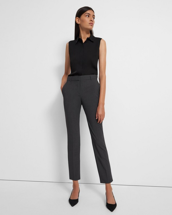 Treeca Pant in Good Wool