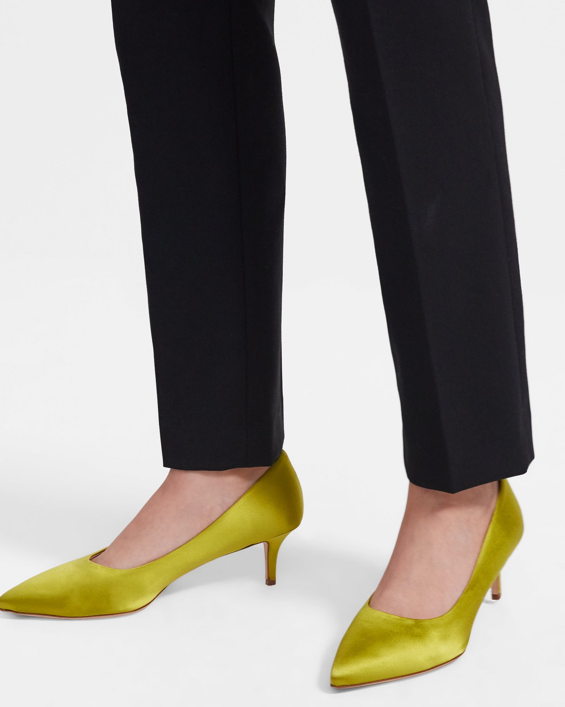 City 55 Pump in Satin   Theory