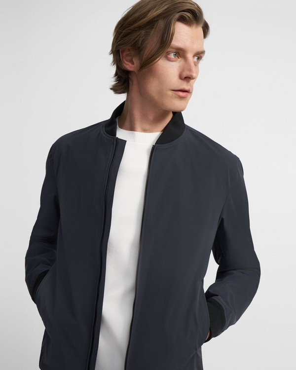 City Bomber Jacket in Foundation Tech
