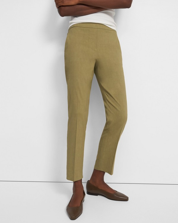 Treeca Pull-On Pant in Good Linen