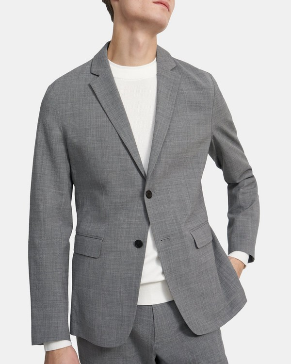 Clinton Blazer in Stretch Seersucker