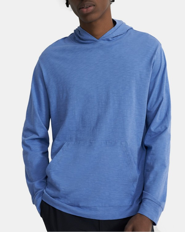 Layer Hoodie in Slub Cotton