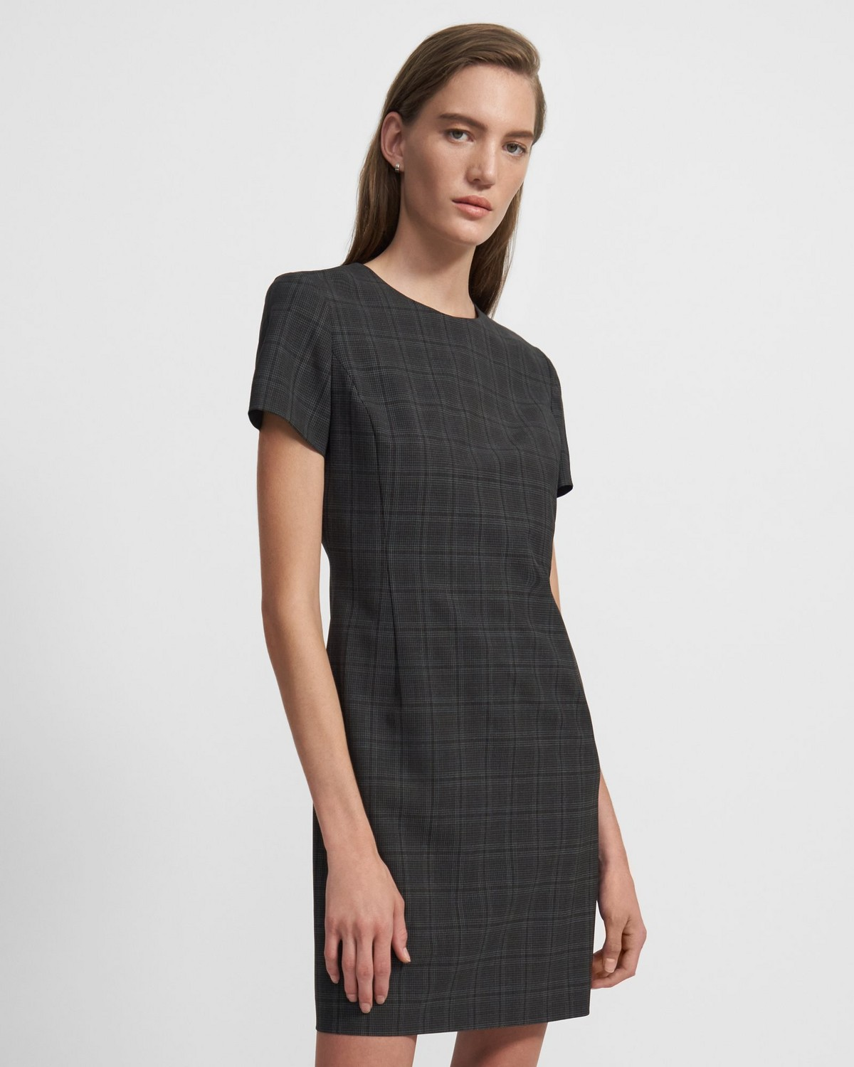 Jatinn Dress in Plaid Good Wool