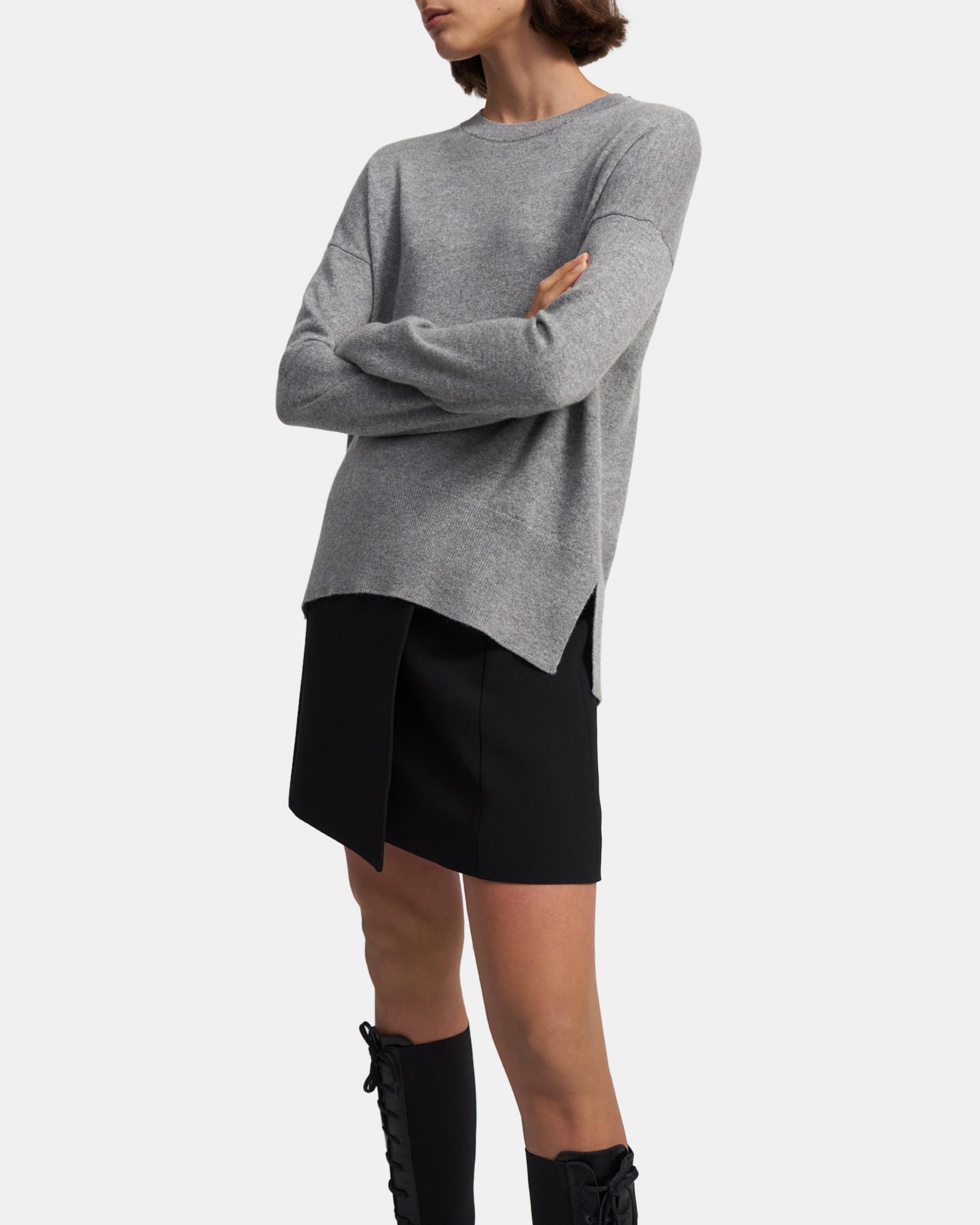 Karenia Sweater in Cashmere   Theory
