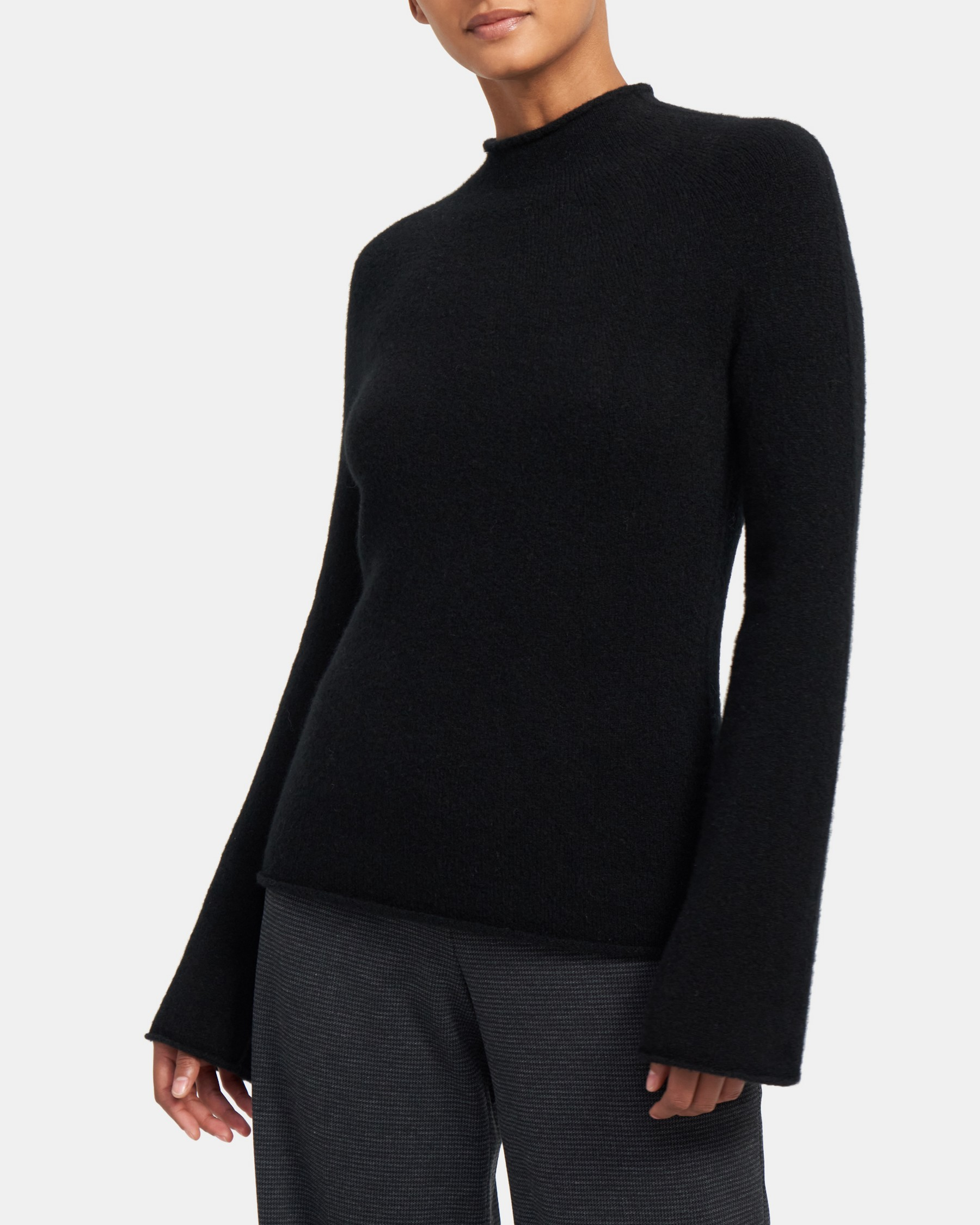 Seamless Pullover in Cloud Wool   Theory