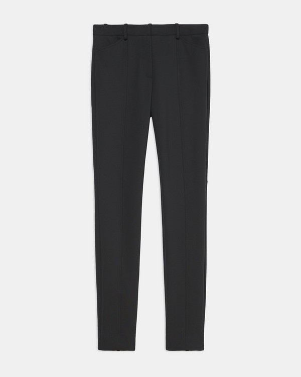 Seamed Trouser in Scuba