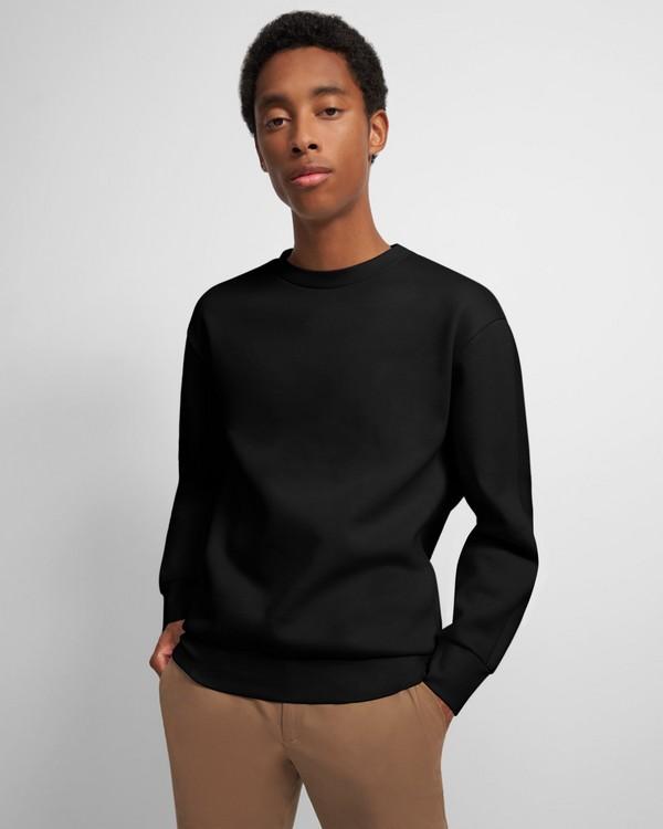 Theory Crewneck Sweatshirt in Cotton Fleece