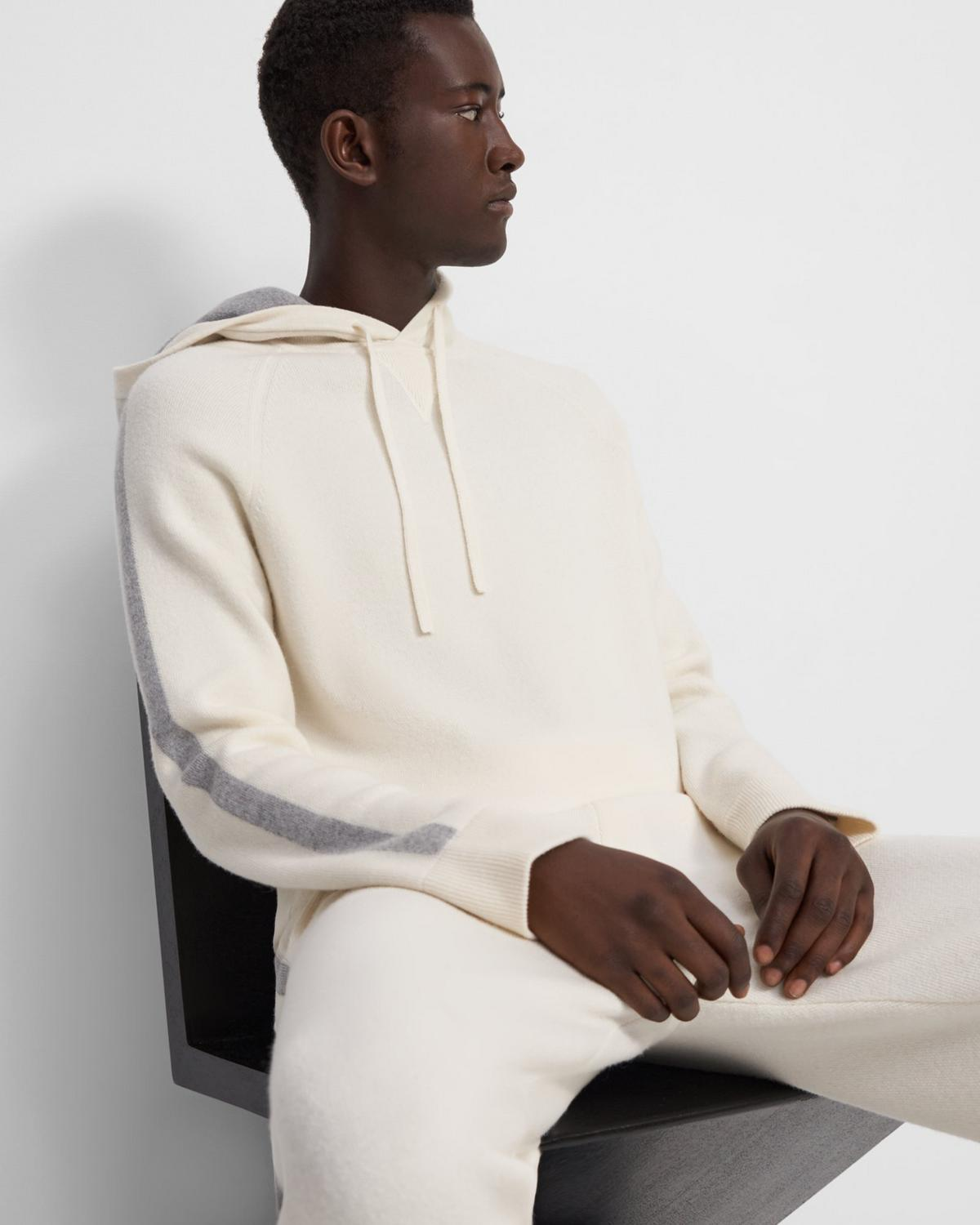 Hoodie in Wool-Cashmere