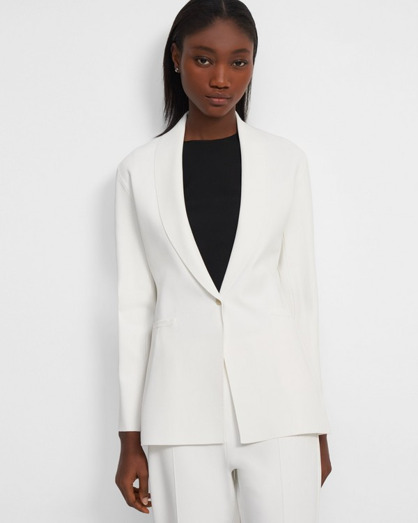 Etiennette Blazer in Stretch Knit