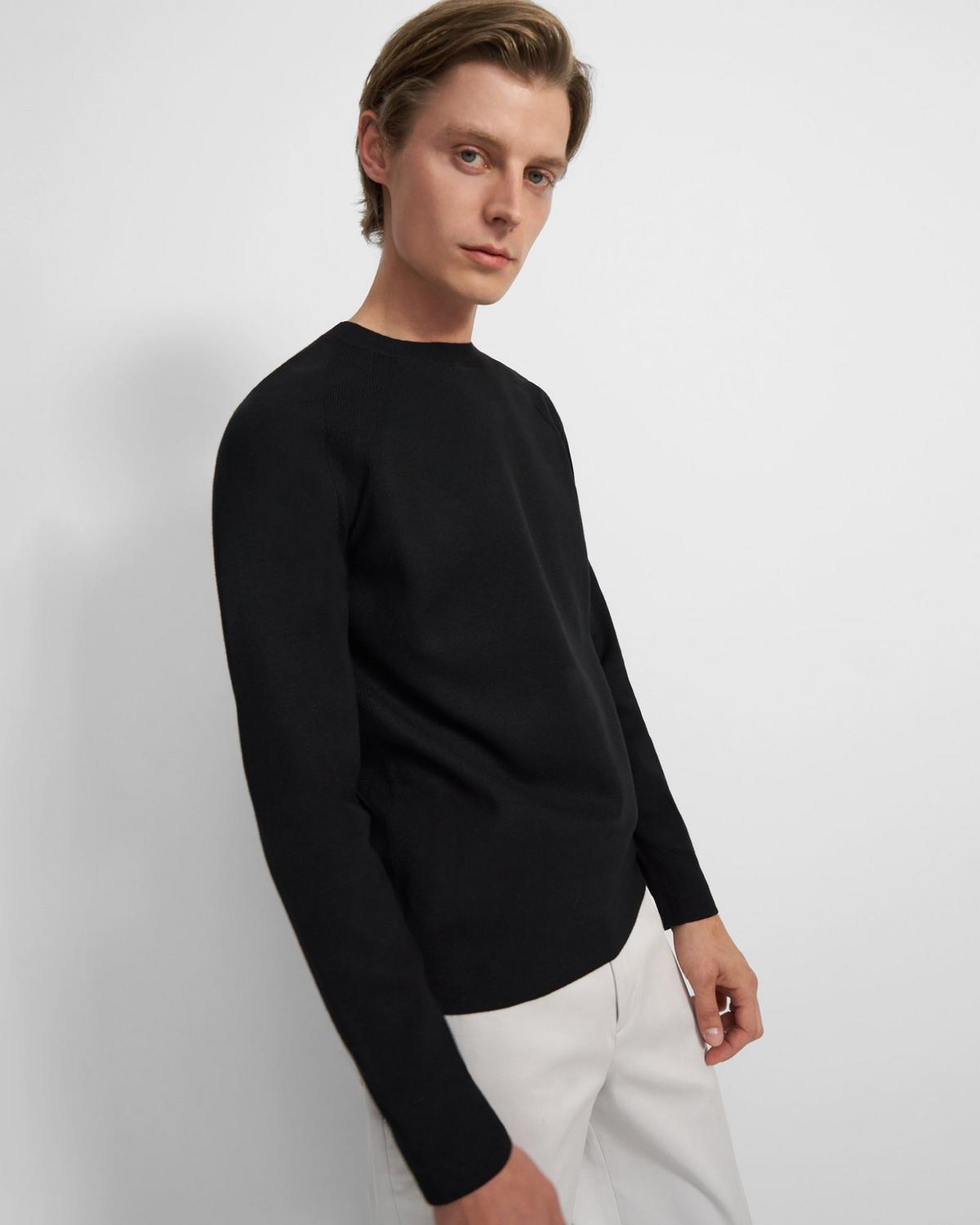 Crewneck Sweatshirt in Fine Bilen