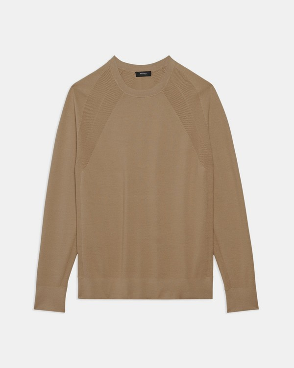 Crewneck Sweater in Fine Bilen