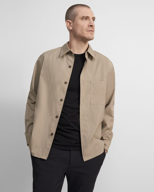 Theory Clyfford Packable Jacket in Pique Nylon