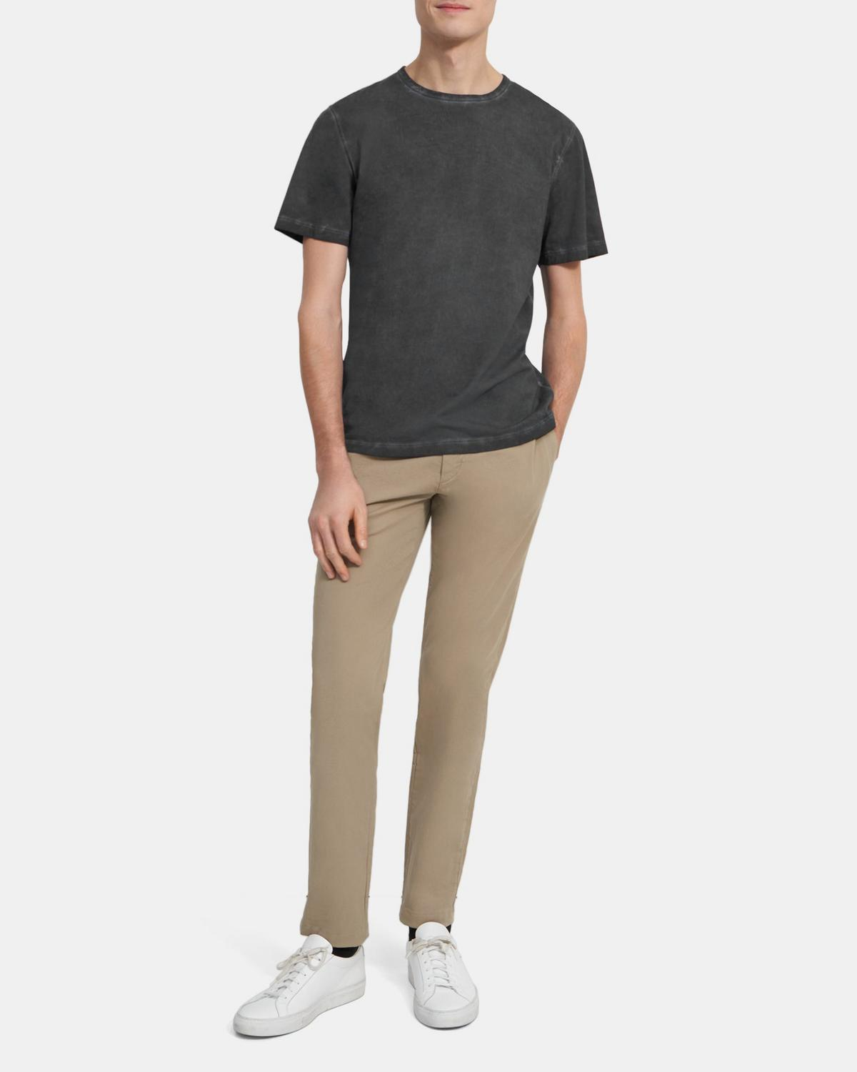 Cotton Jersey Precise Tee | Theory