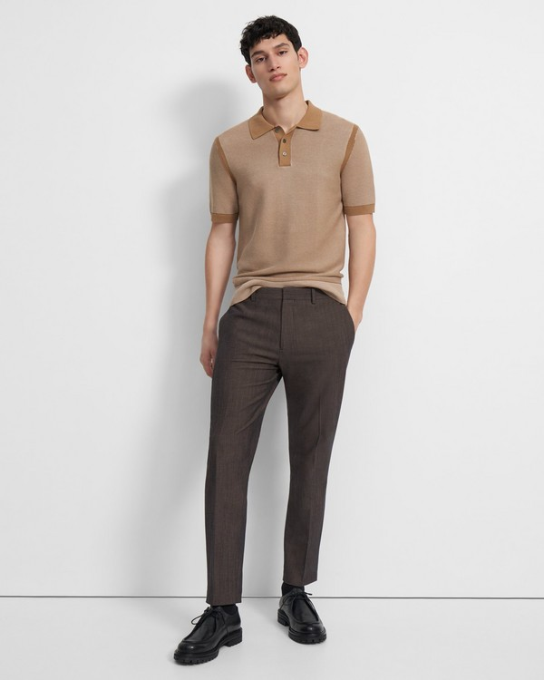 Curtis Pant in Mélange Wool